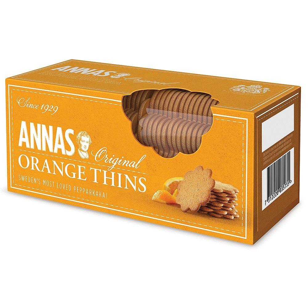 Anna's Orange Thins Sweet Biscuits