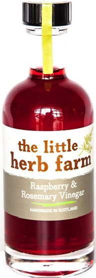 Little Herb Farm Raspberry & Rosemary Vinegars