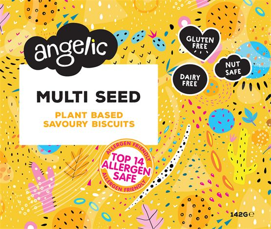 Angelic Multi Seed Crackers