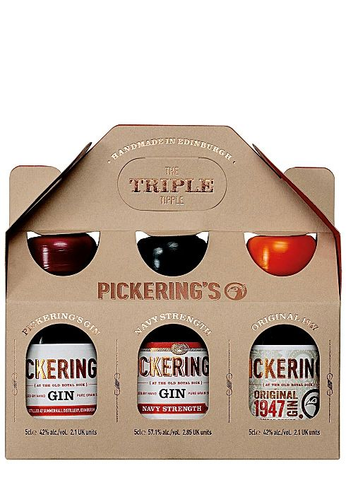 Pickerings Triple Tipple Gift Pack