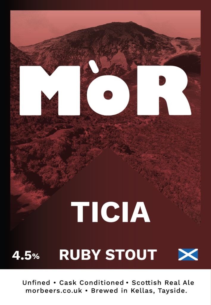 MoR Ticia Ruby Stout Beers & Cider