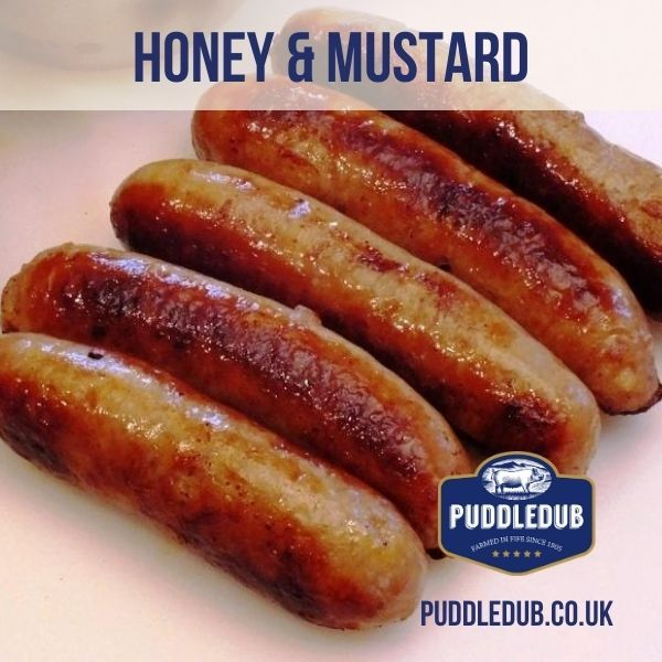 Puddledub Honey & Mustard Sausages