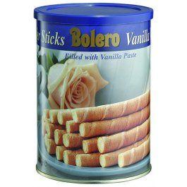 Bolero Vanilla Wafer Sticks