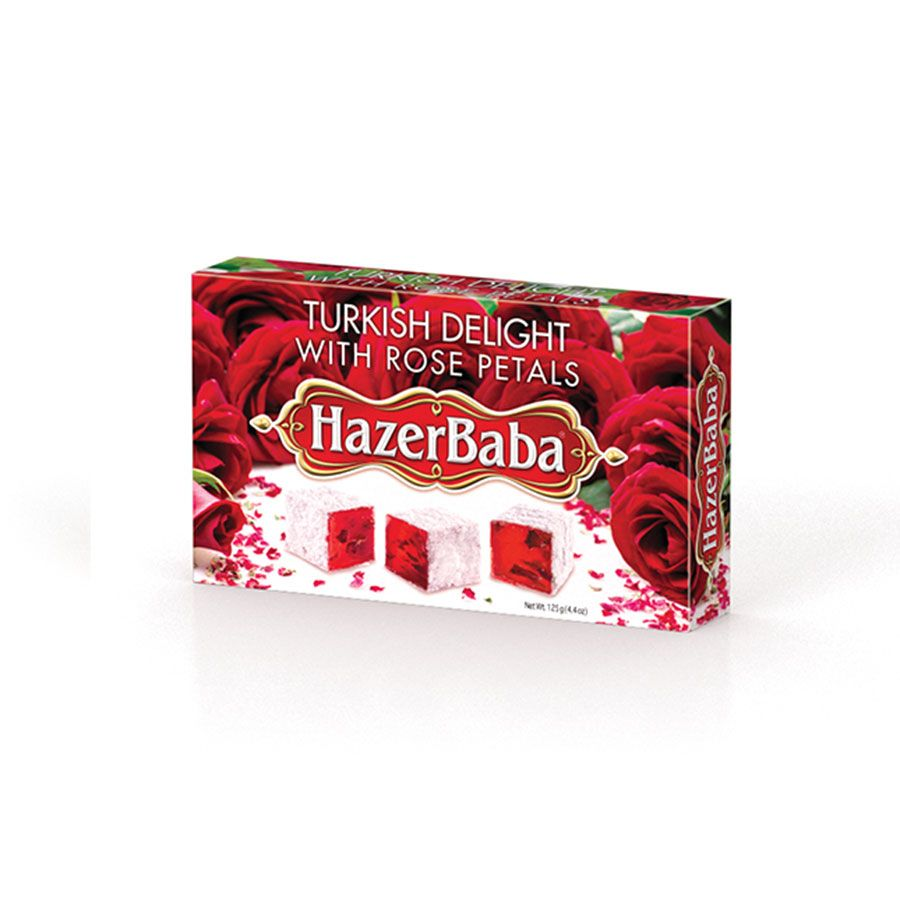 Hazer Baba Rose Petal Turkish Delight
