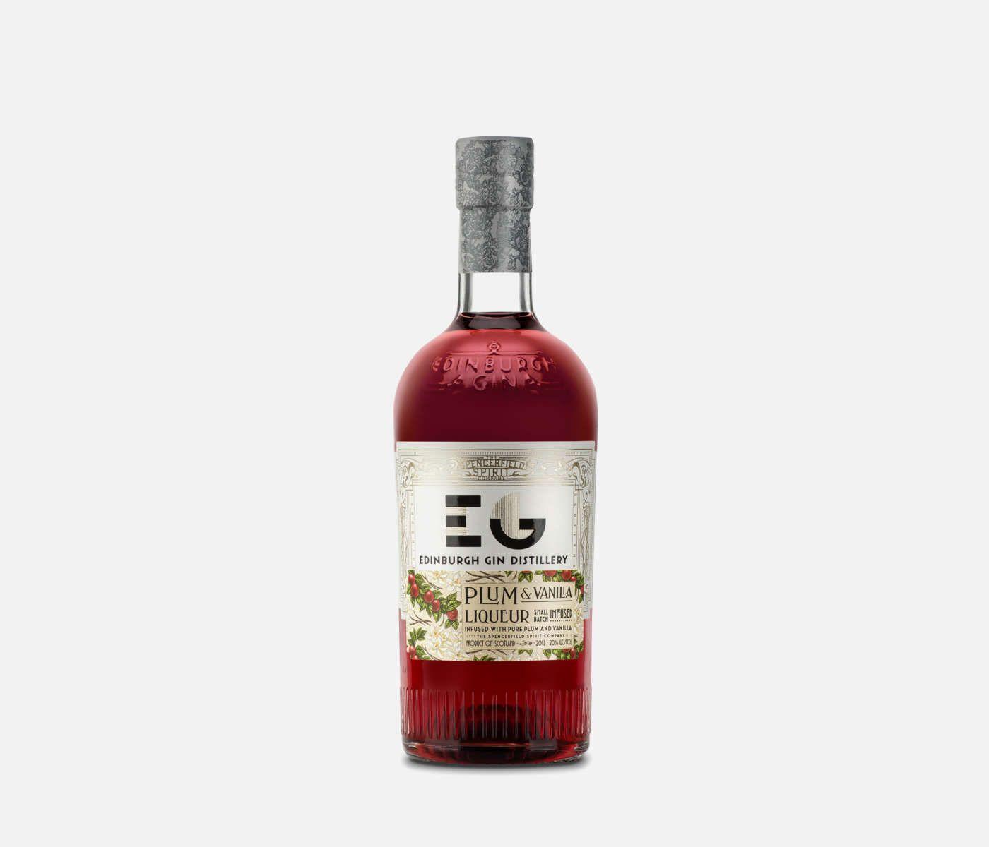 Edinburgh Plum & Vanilla Gin Gins & Gin Liqueurs