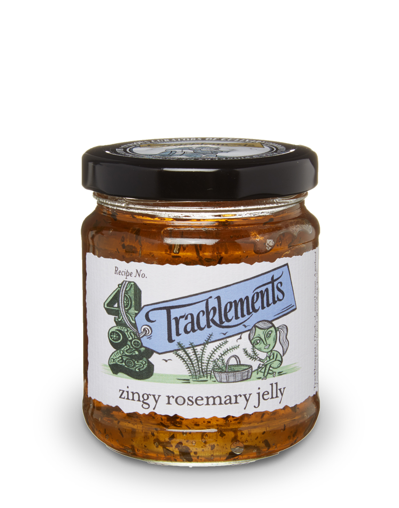 Tracklements Rosemary Jelly Savoury Jellies & Ja