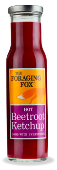 Foraging Fox Hot Beetroot Ketchup Table Sauces