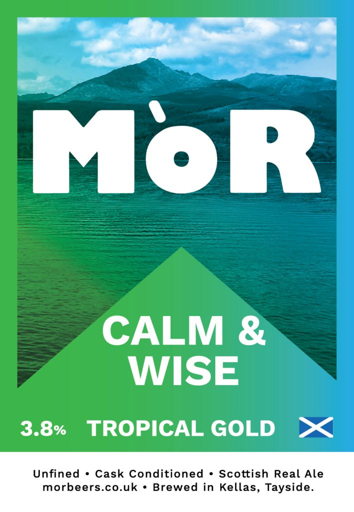 MoR Calm & Wise Tropical Gold Ale