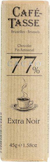 Cafe Tasse 77% Dark Chocolate
