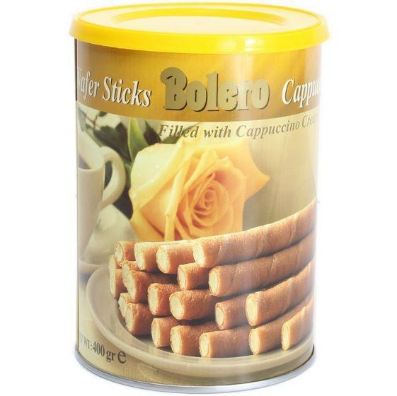 Bolero Cappuccino Wafer Sticks