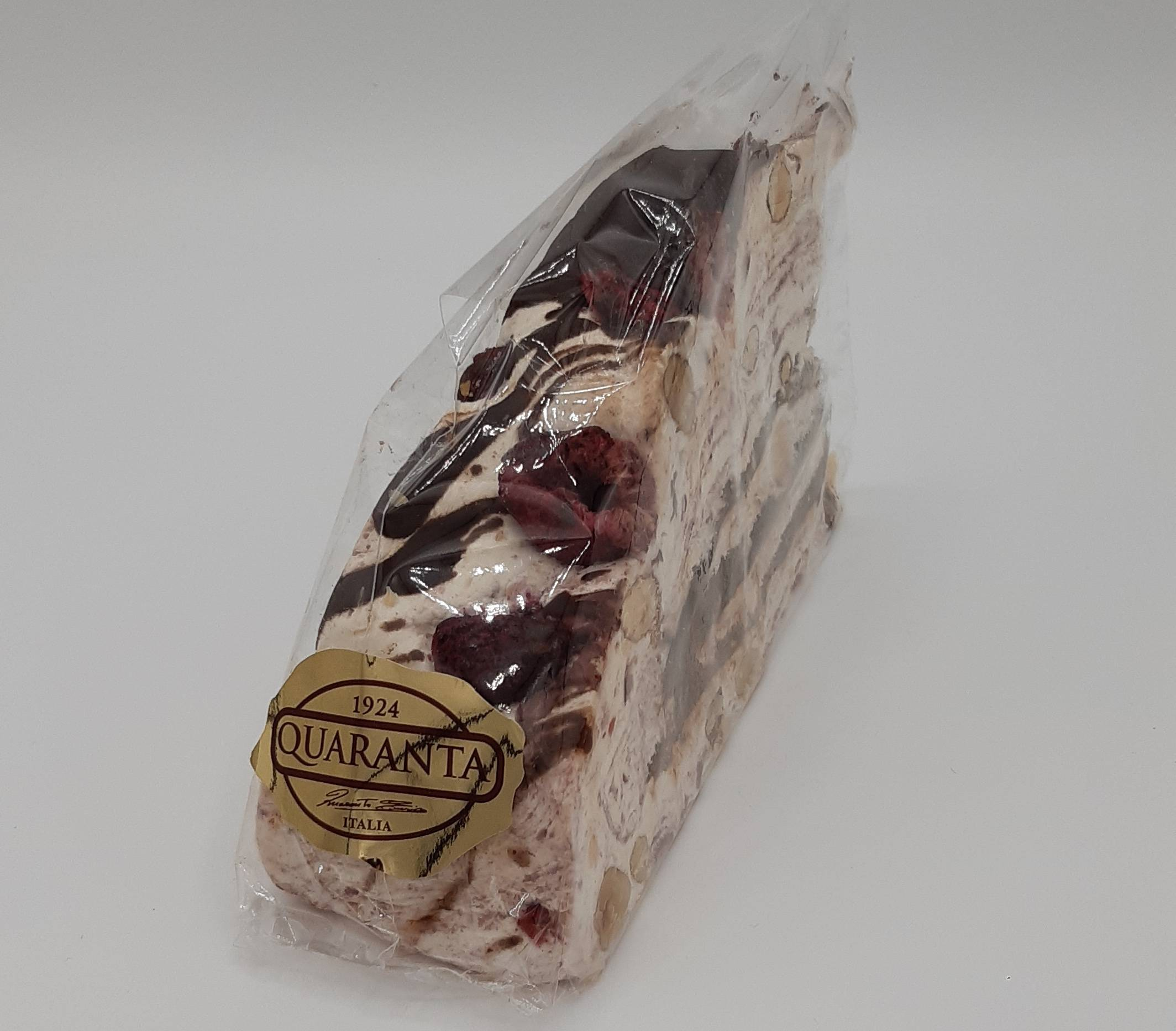 Quaranta Raspberry & Chocolate Nougat