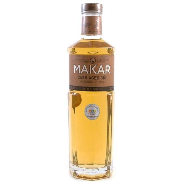 Makar Oak Aged Gin Gins & Gin Liqueurs