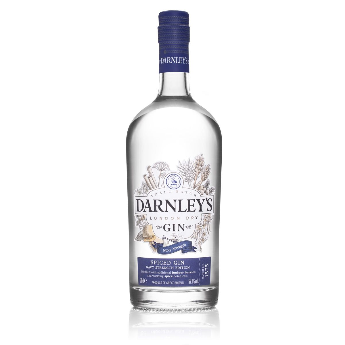 Darnley's Spiced Navy Strength Gin Gins & Gin Liqueurs