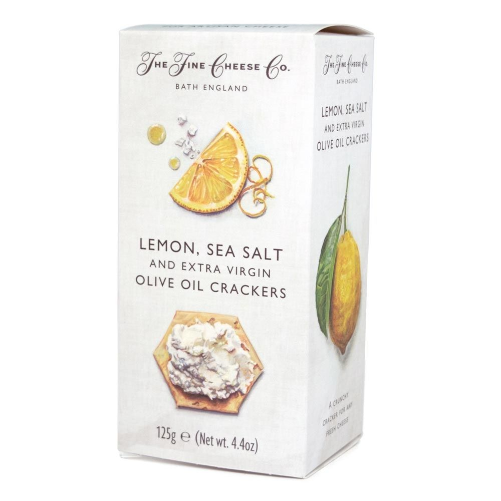 FCC Lemon & Sea Salt Crackers