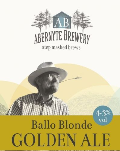 Abernyte Ballo Blonde Golden Ale