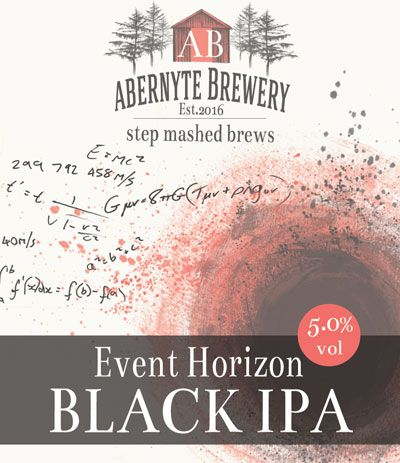 Abernyte Event Horizon Black IPA