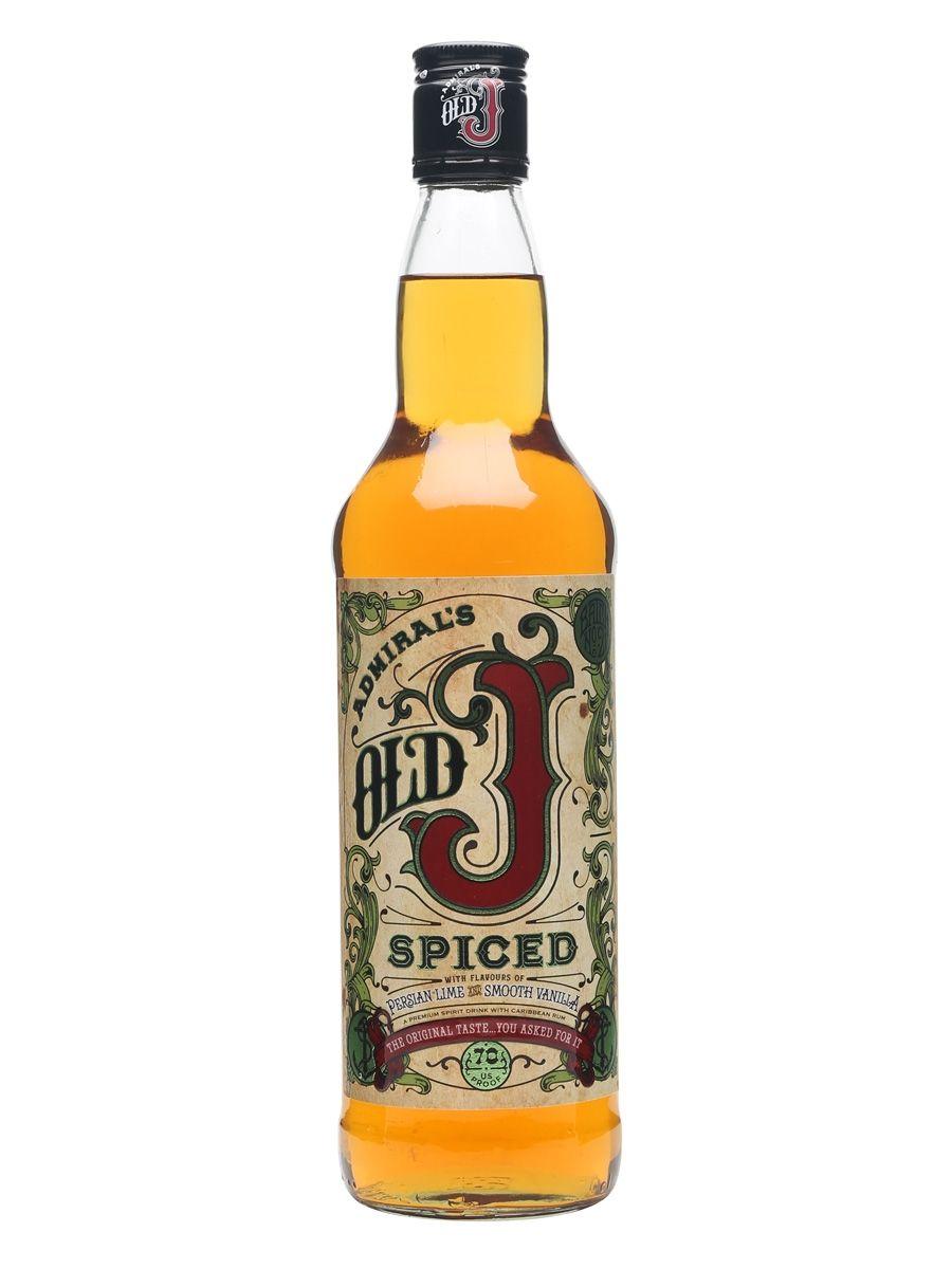 Admiral's Spiced J Rum