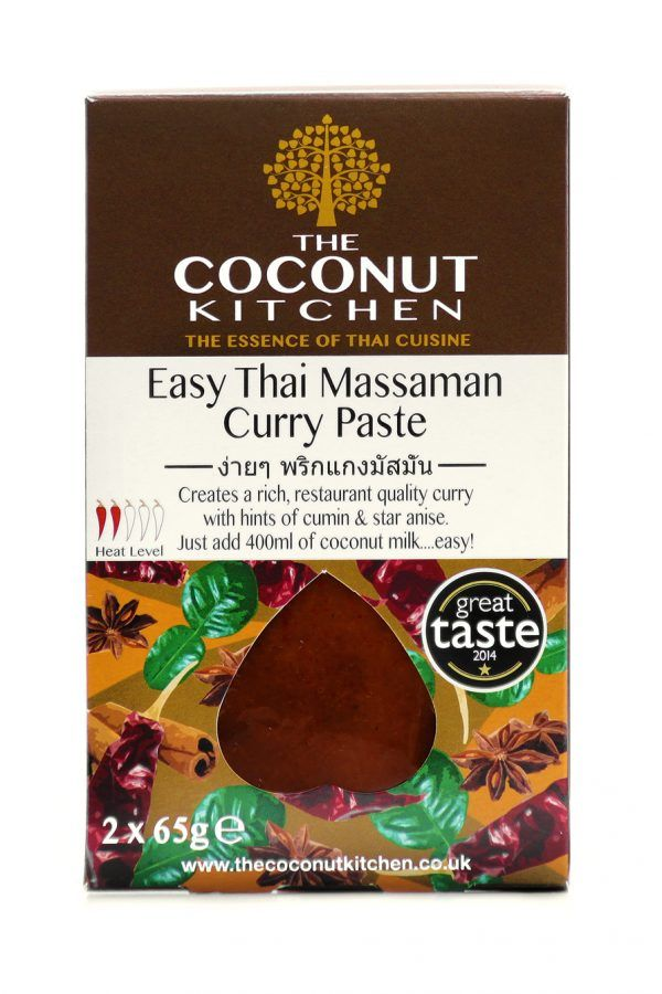 Coconut Kitchen Massaman Curry Paste Curry Sauces & Paste