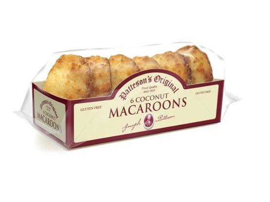 Patteson's Coconut Macaroons Sweet Biscuits