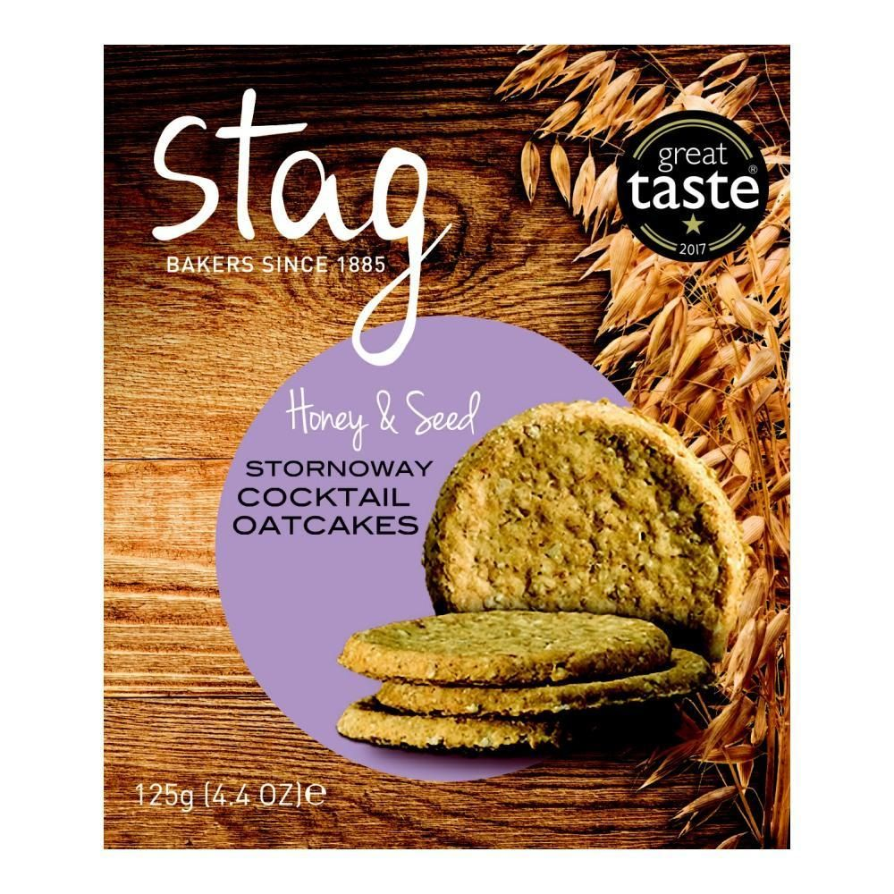 Stag Honey & Seed Oatcakes