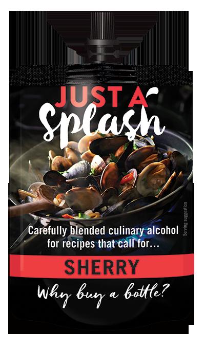 Just a Splash Sherry