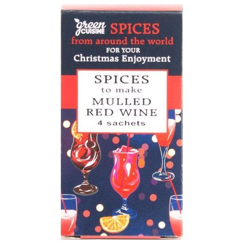 Green Cuisine Mulled Wine Spices