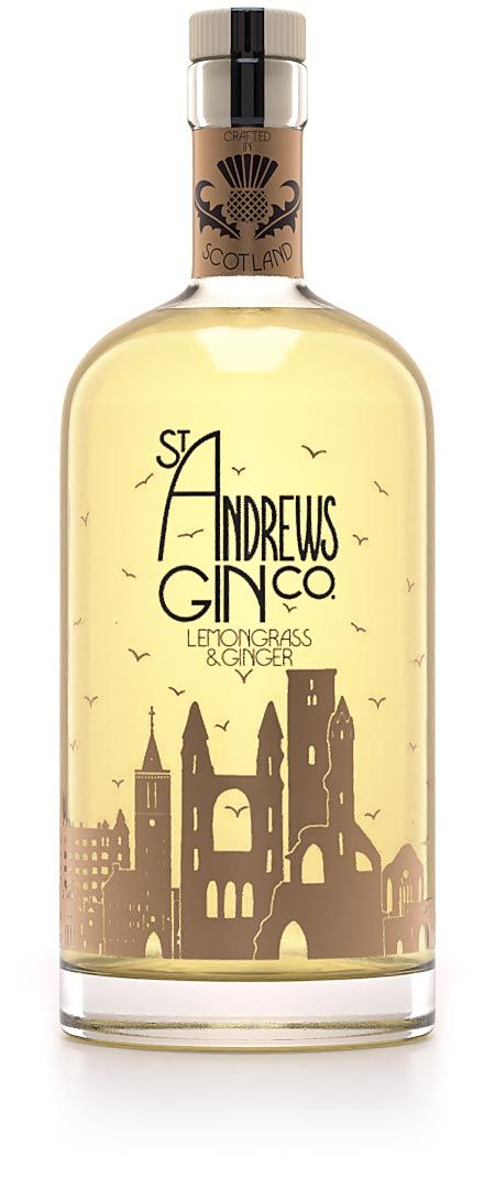 St Andrews Lemongrass Ginger Gin