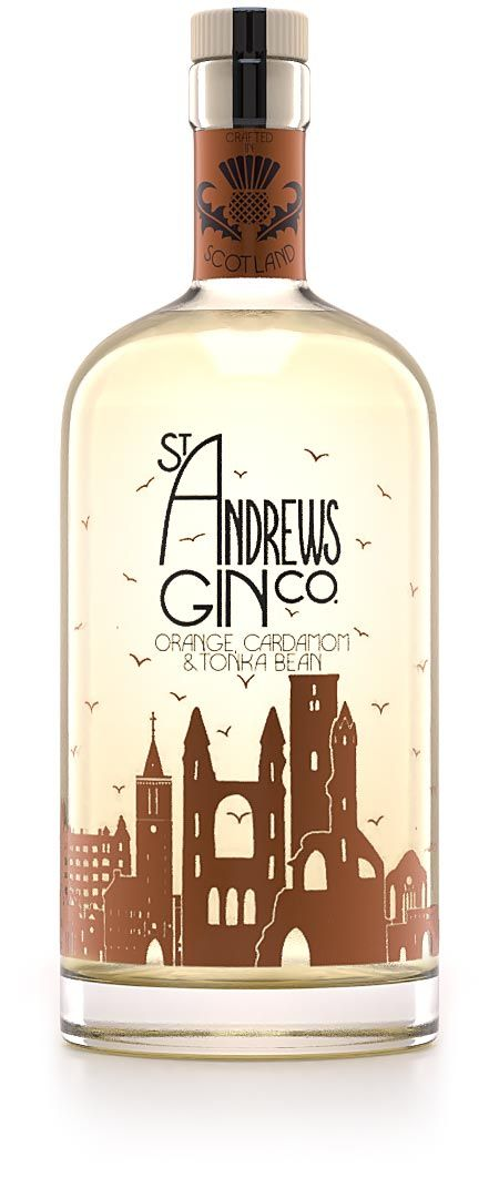 St Andrews Orange Cardamom Tonka Gin