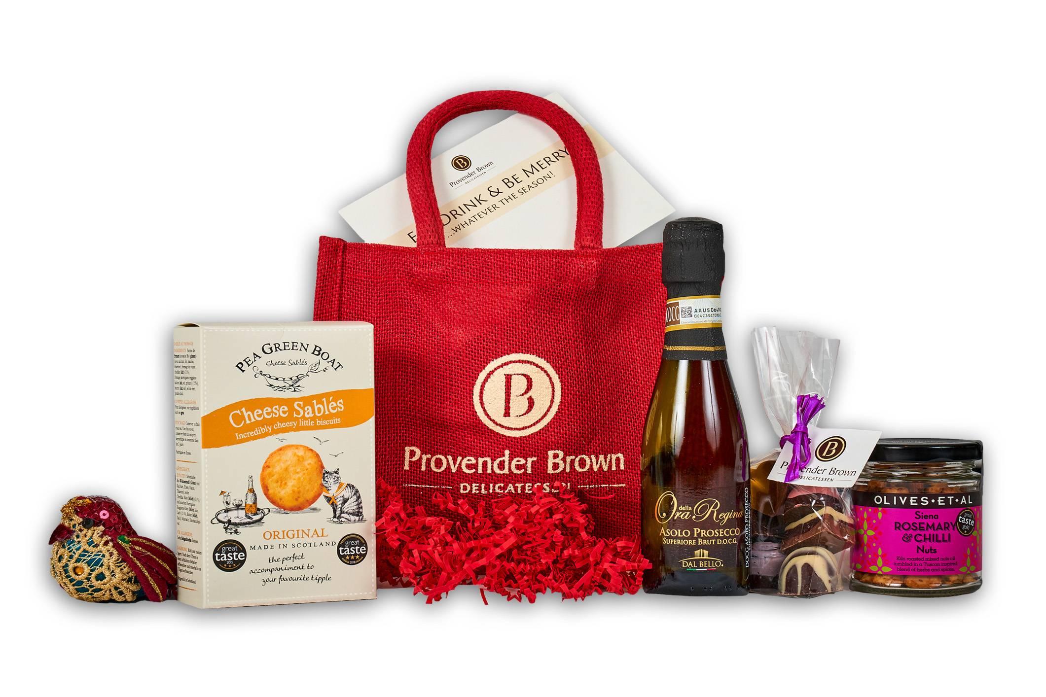 Robin Redbreast Jute Gift Bag