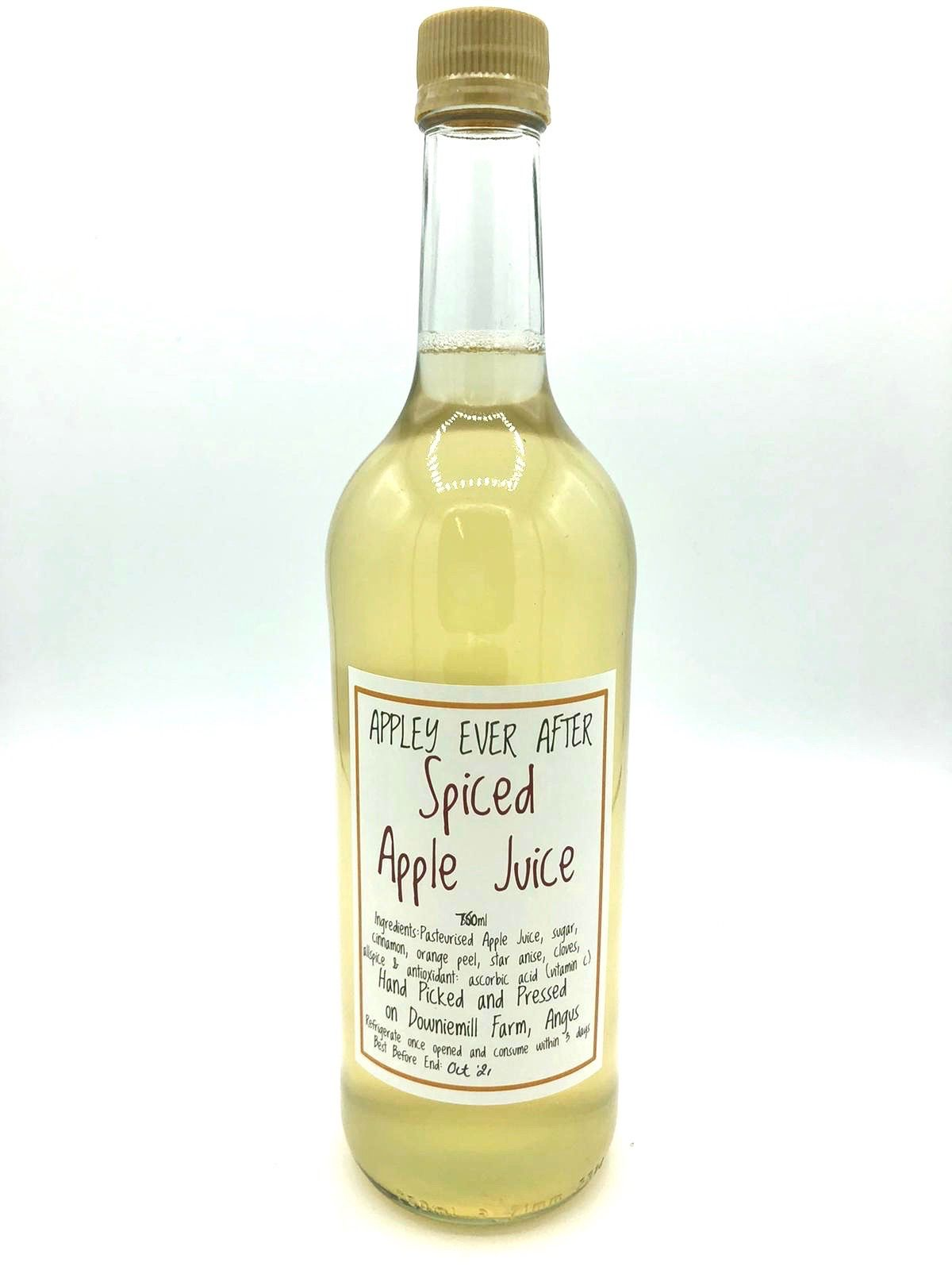 Appley Ever After Spiced Apple Juice