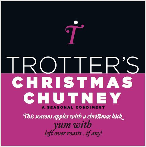 Trotters Christmas Chutney