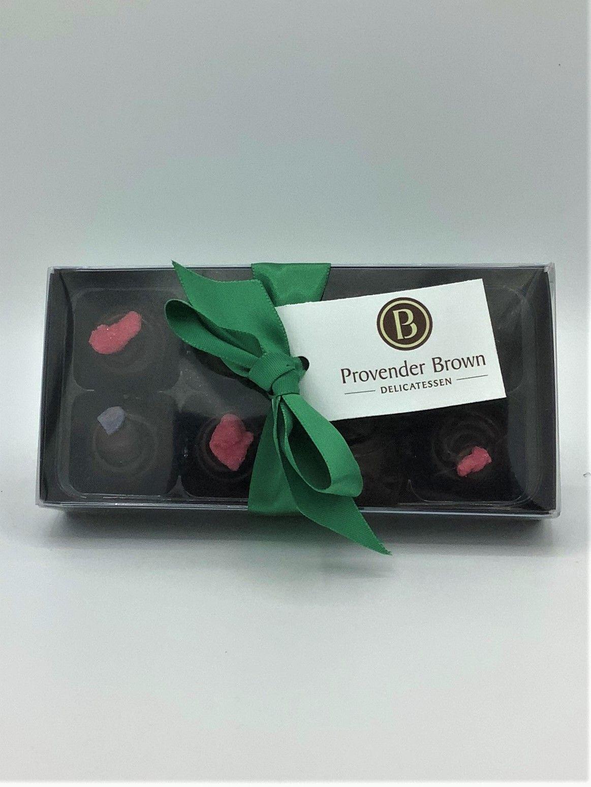 Provender Brown Violet & Rose Creams Gifting Chocolates