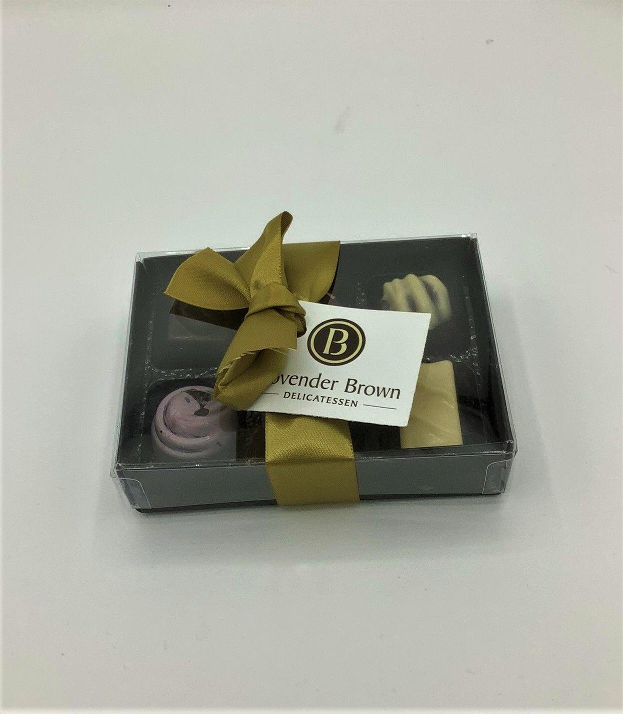 Provender Brown 6 Chocolates Gifting Chocolates