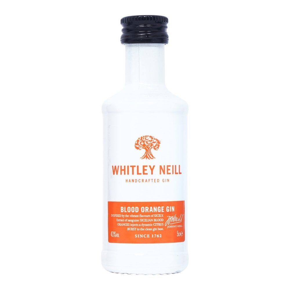 Whitley Neill Blood Orange Gin Gins & Gin Liqueurs