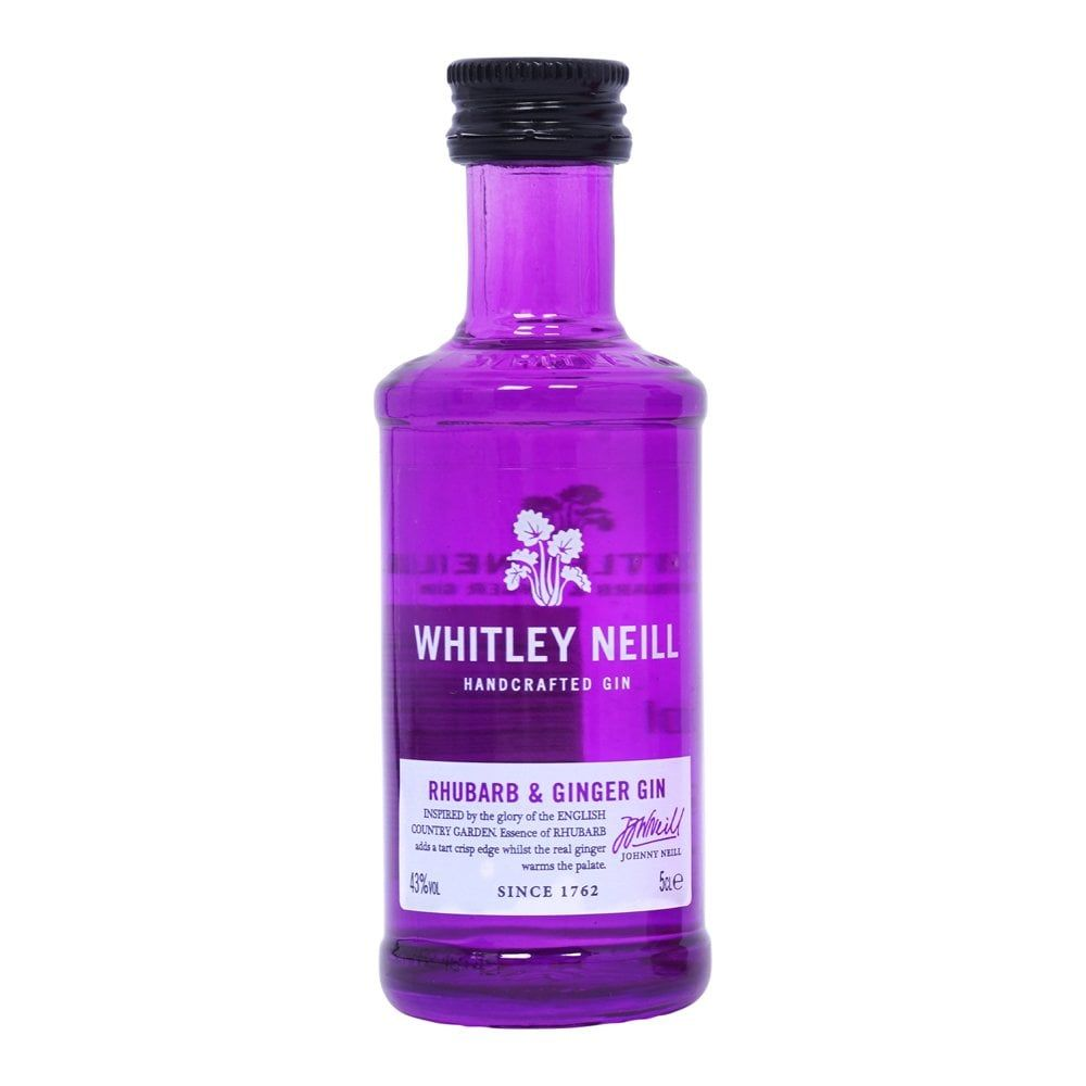 Whitley Neill Rhubarb & Ginger Gin Gins & Gin Liqueurs