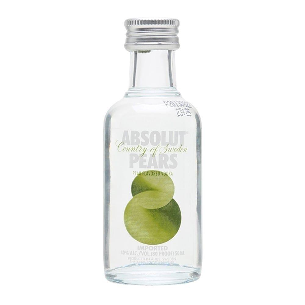 Absolut Pear Vodka Miniature