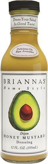 Brianna's Honey & Mustard Dressing Dressings & Marinade