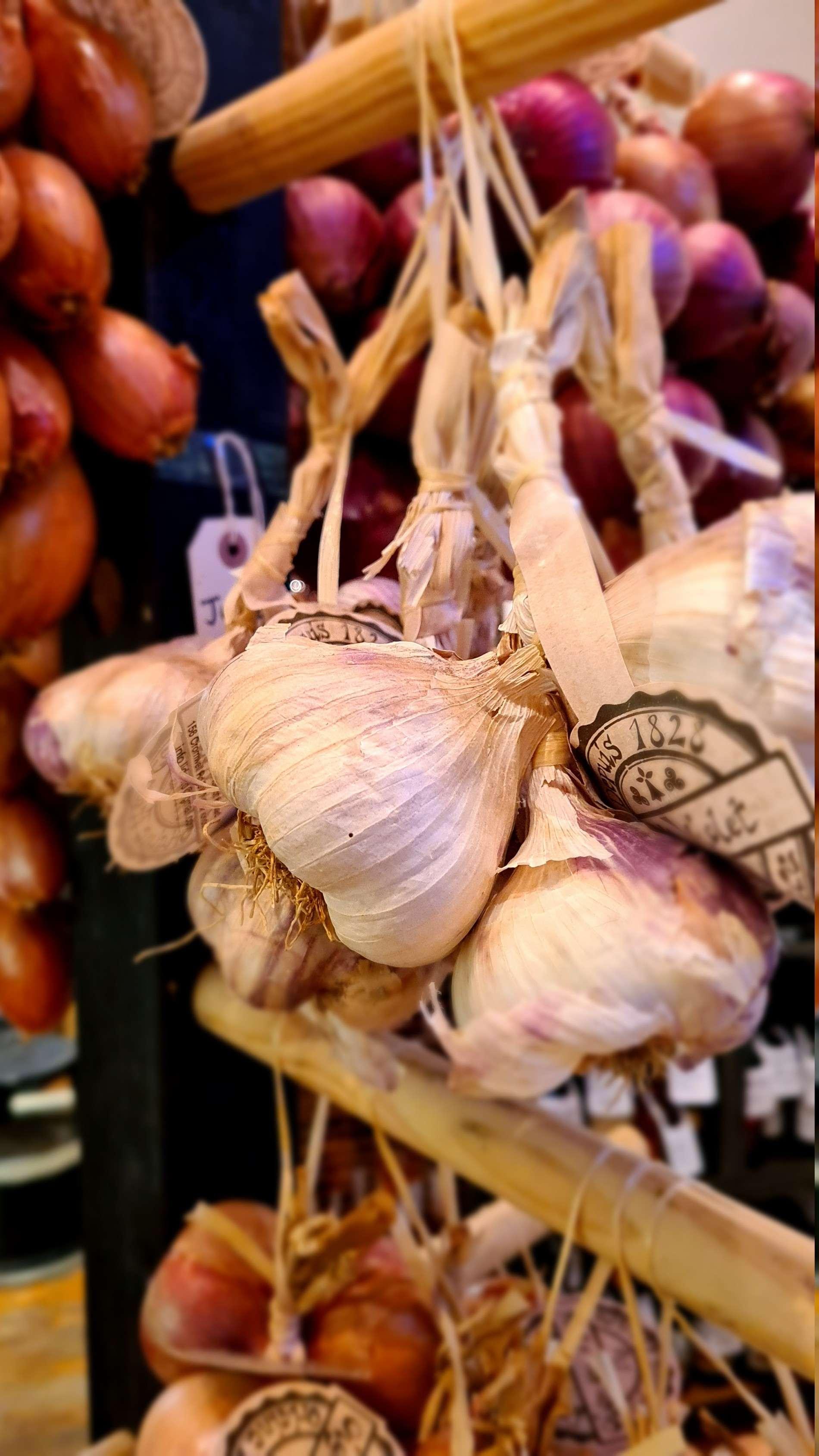 Brittany Garlic Produce