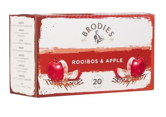 Brodies Rooibos & Apple Tea