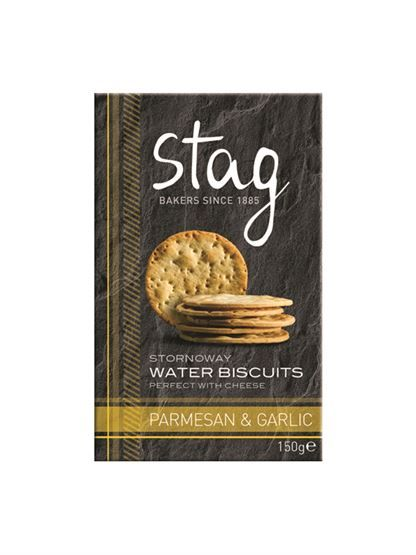 Stag Bakery Parmesan Water Biscuits