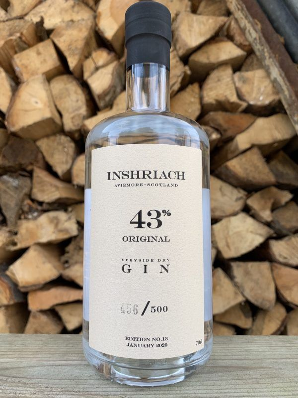 Inshriach 43% Gin Gins & Gin Liqueurs