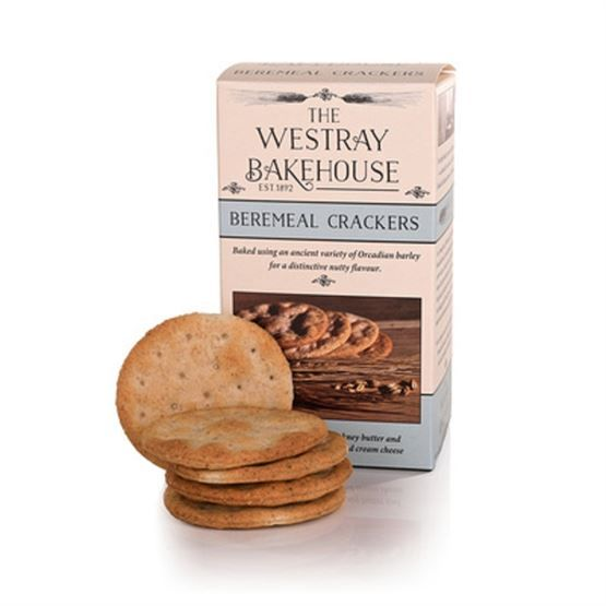 Westray Beremeal Crackers Savoury Biscuits/Oat