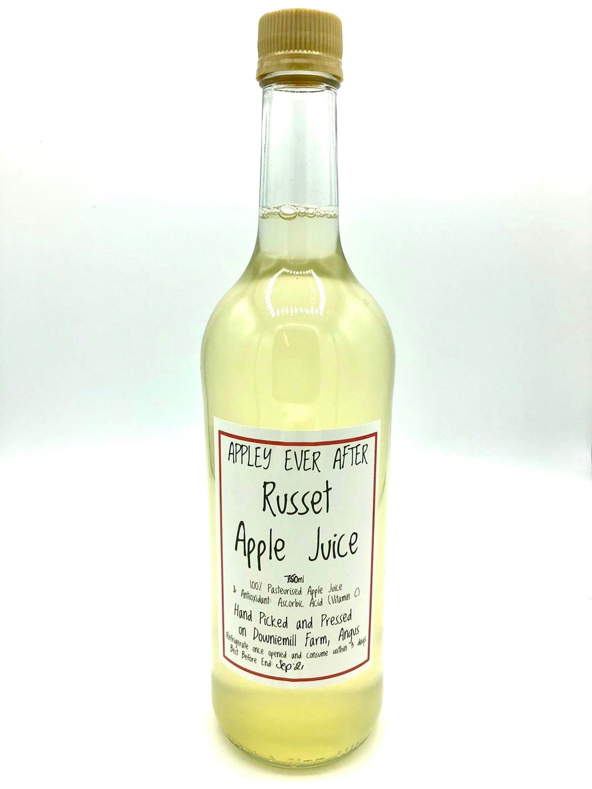 Appley Ever After Russet Apple Juice