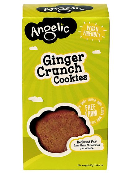 Angelic Ginger Crunch Cookies