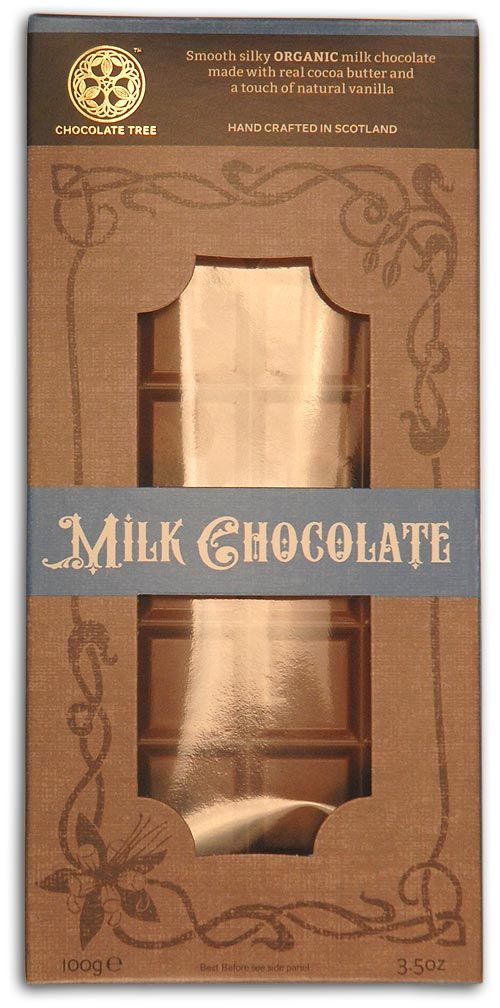 Chocolate Tree Milk Chocolate Bar