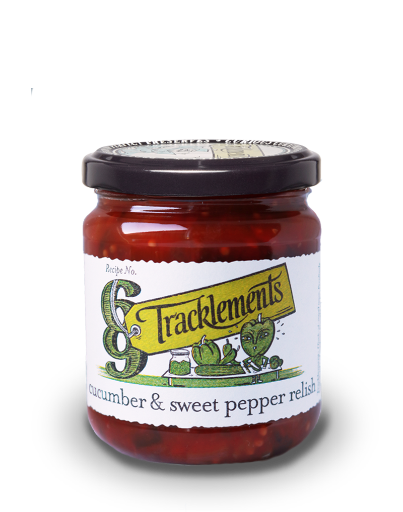 Tracklements Cucumber & Pepper Relish Chutneys & Relishes