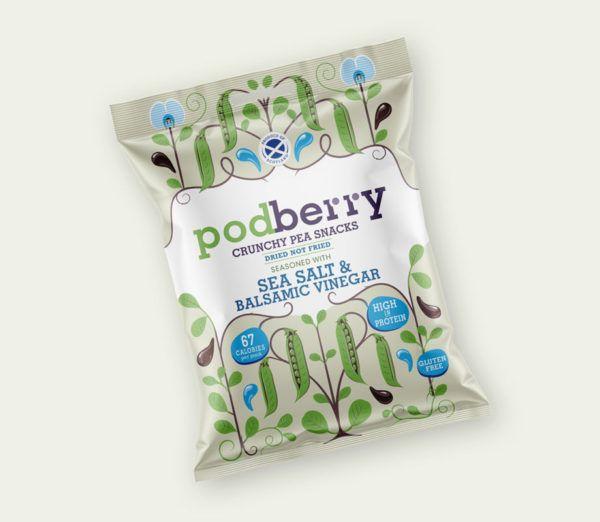 Podberry Sea Salt & Balsamic Vinegar Miscellaneous Snacks