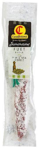 Casademont Mini Fuet Green Pepper Deli Meats