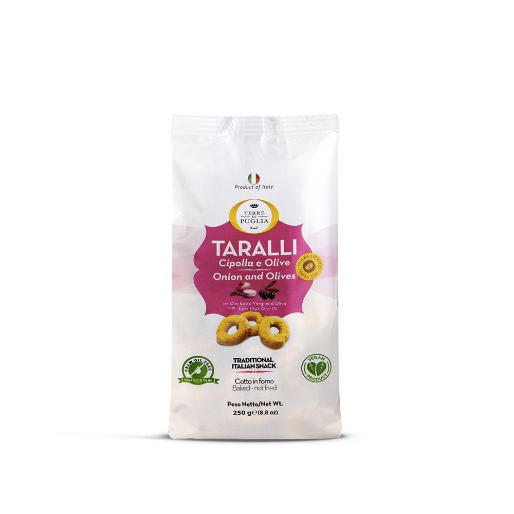 Terre di Puglia Onion Taralli