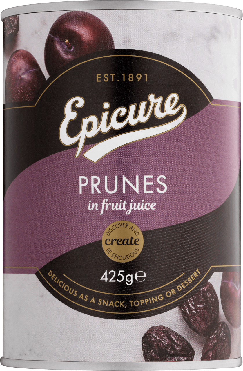 Epicure Prunes in Fruit Juice Preserved Fruits